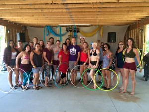 ARMageddon Hoop Class with Benjamin Barry at NH Flow Fest - August 2015