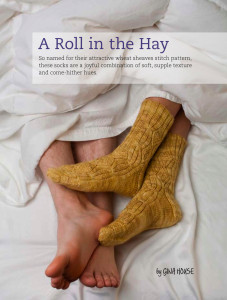 A Roll in the Hay Socks by Gina House (The Joy of Sox by Lark Books)