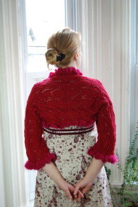 Kimberly Shrug by Gina House (Classic Elite Newsletter Pattern)
